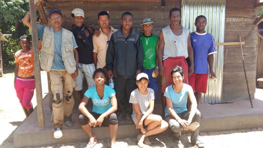 The COMATSA team with local guides.