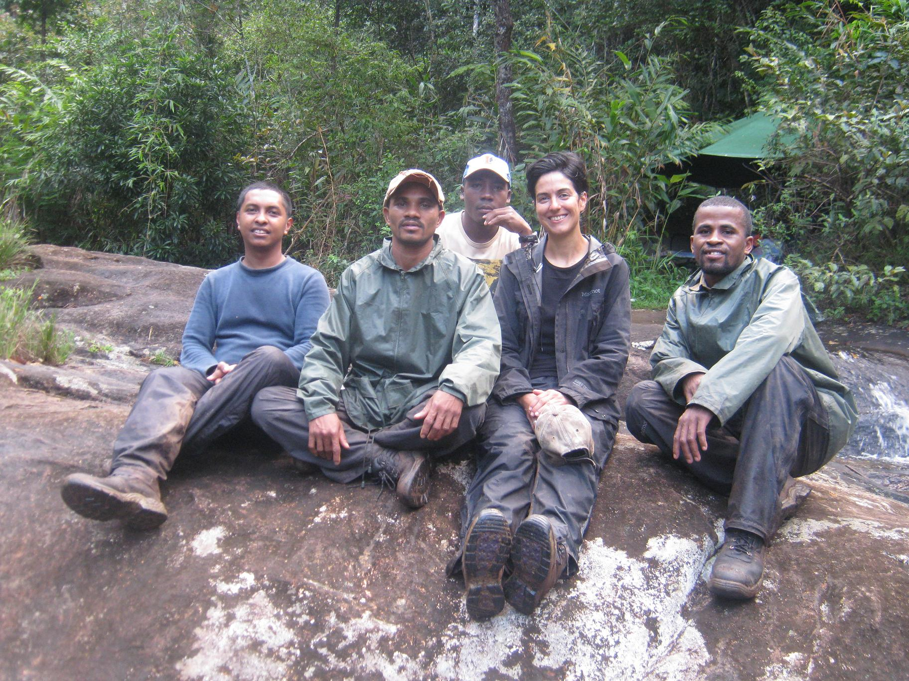 Cheirogaleus team at Marojejy