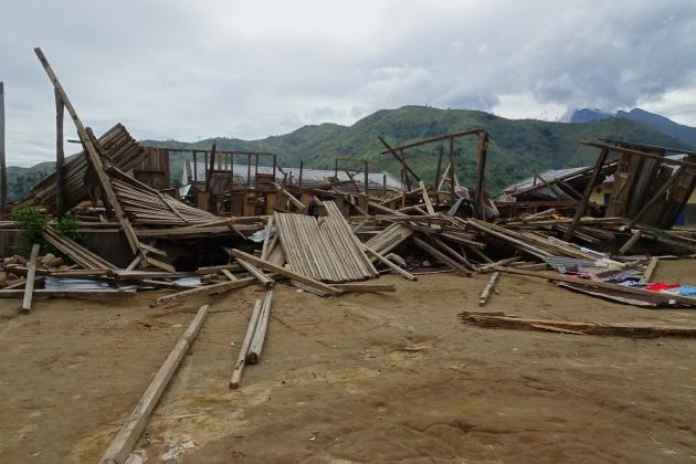 cyclone damage madagascar sava
