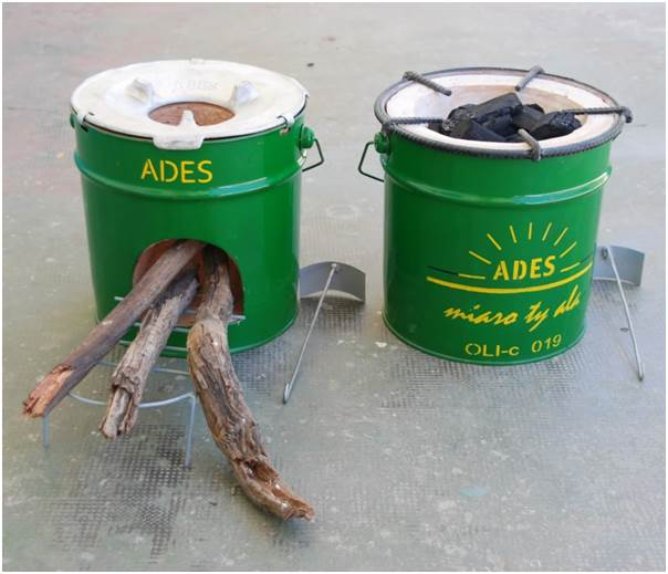 two ADES stoves