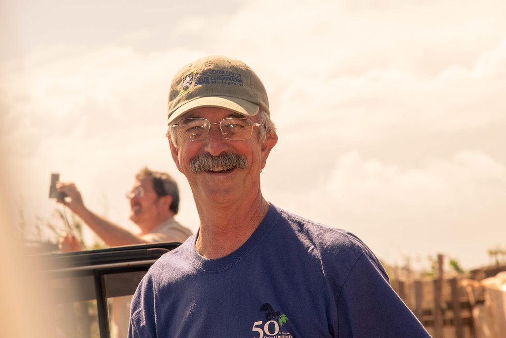 Photo of DLC conservation coordinator Charlie Welch in Madagascar