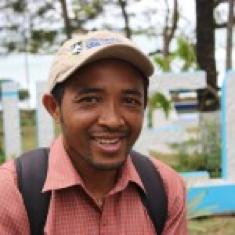 Photo of DLC-SAVA program coordinator Lanto in Madagascar